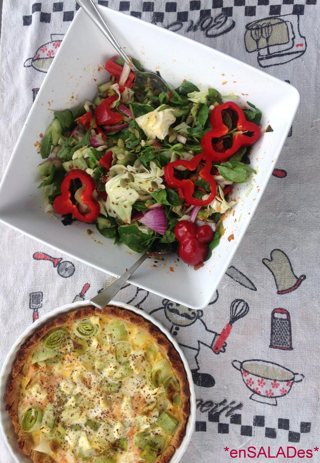 SaladQuiche