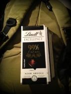99% Dark Choc... Only found that one in Zurich!