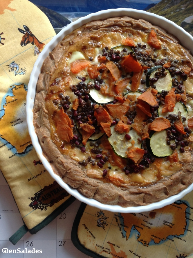 Quiche fromage vege