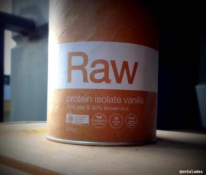 Raw amazonia isolate protein powder