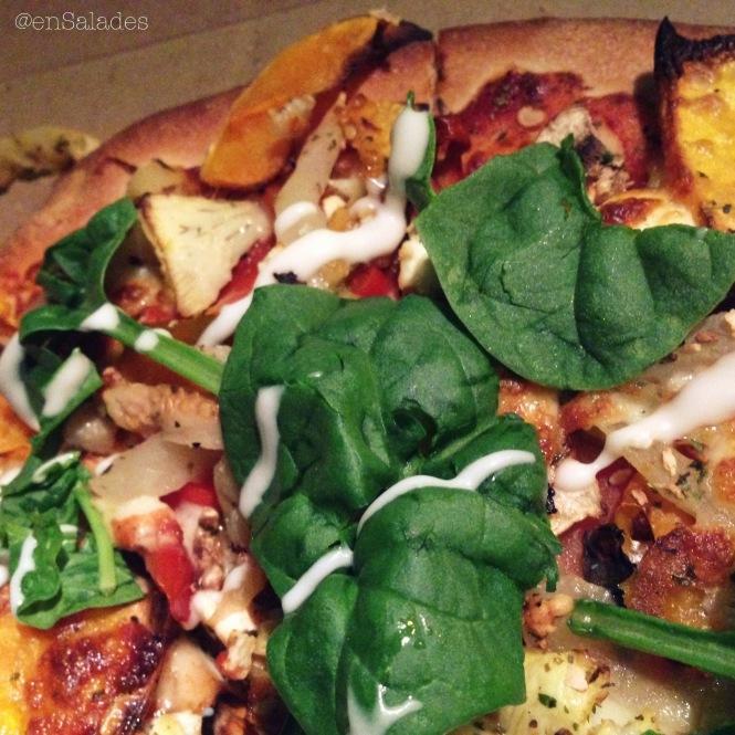 Organic pizza scarsborough