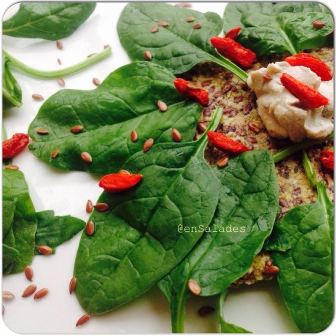 Healthy snack salad