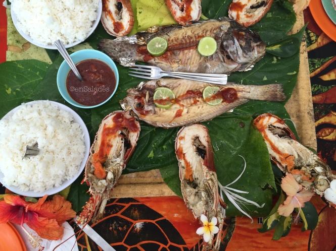 Fresh fish New Caledonia